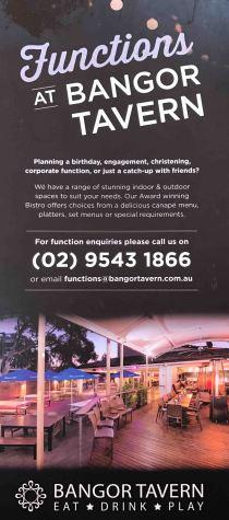 Functions at Bangor Tavern